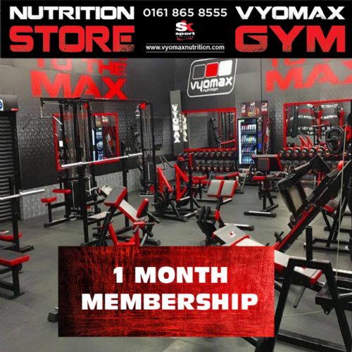 1 MONTH GYM MEMBERSHIP